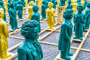 Beethoven Figuren in Bonn